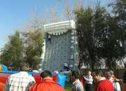 Muros de escalada inflables para eventos