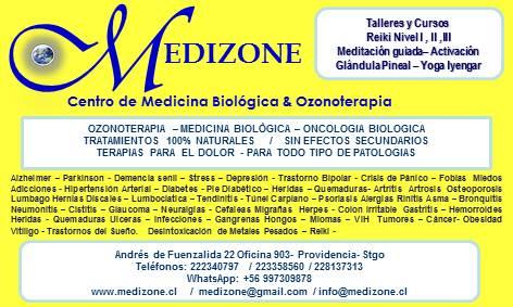 Medicina general, medicina biologica biorreguladora, ozonoterapia, geriatria, medicina natural, oncologia biologica, traumatologia, reumatologia, kinesiologia, nuticion, terapia ortomolecular, psiconeuroinmunoendocrinologia,  psicologia clinica, homotoxic
