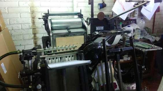 Heidelberg máquina de imprenta