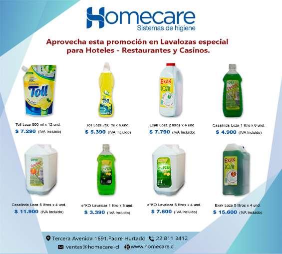 Homecare te ofrece calidad superior a precio justo!