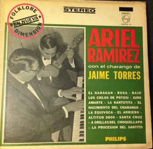 Ariel ramirez con el charango de jaime torres ?– ariel ramirez con el charango de jaime torres