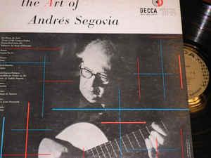Andre?s segovia ?– the art of andres segovia