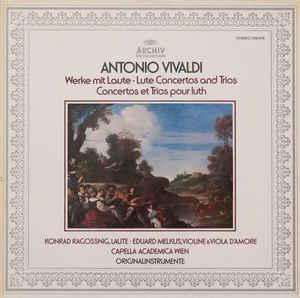 Antonio vivaldi ?– werke mit laute - lute concertos and trios - concertos et trios pour luth