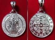 05ebacf702f9 Medalla de san benito en plata merced 738