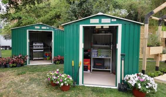 Bodegas metálicas garden box - varios modelos - nuevas