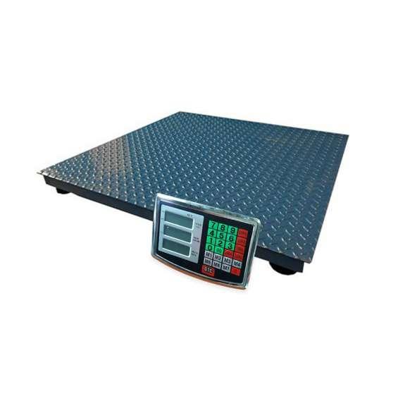 Balanza inalambrica plataforma 1,20 x 1,20 . 3.000 kg.