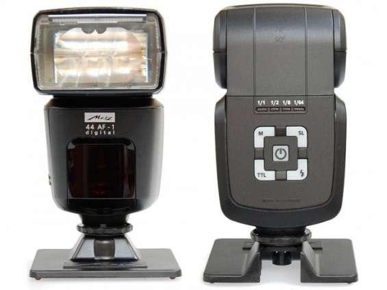 Flash fotográfico digital metz 44 af-1 para cámara nikon