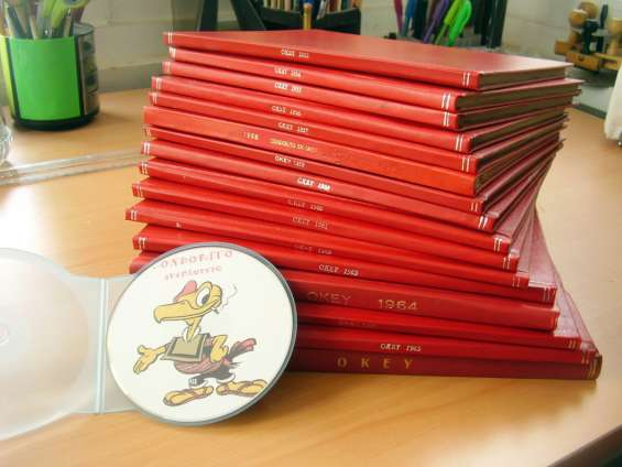 Envio gratis 16 empastes encuadernados condorito en okey mas cd obsequio