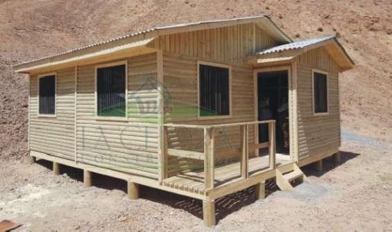 Casa 36m.2 living comedor cocina americana dos dormitorios un baño