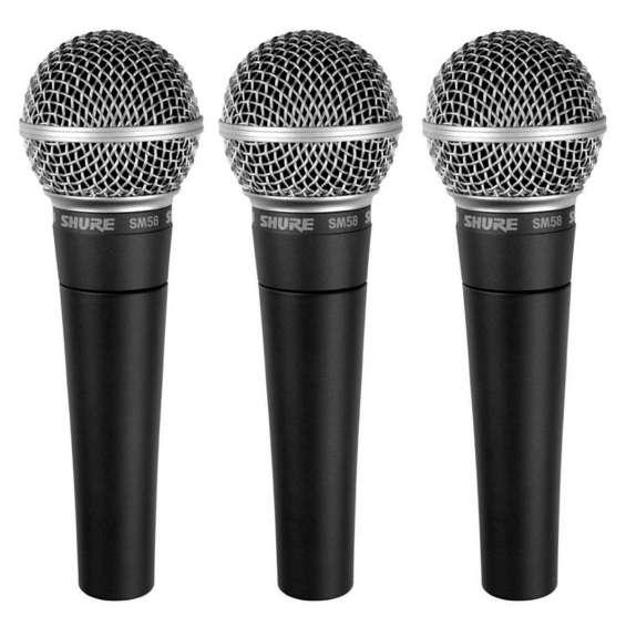 Venta de microfonos shure sm58