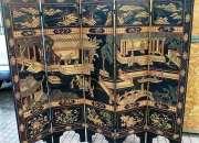 130 anos antiguedad * biombo chino coromandel