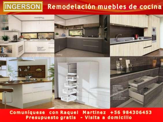 Muebles de cocina, fabricación, remodelación en Las Condes ...