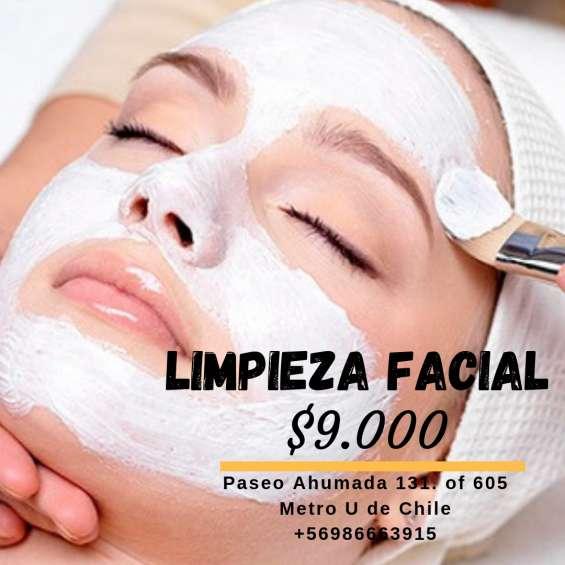 Tratamiento facial en promocion