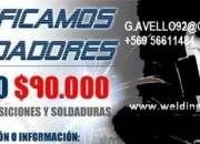 CALIFICACIONES DE SOLDADURA PRUEBAS NO DESTRUCTIVAS TODO CHILE