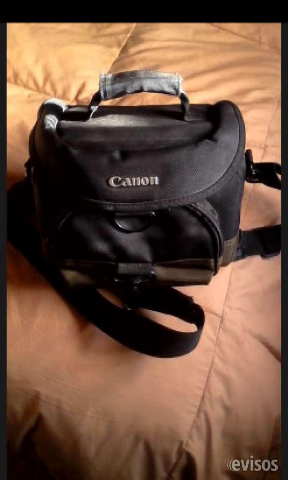 Vendo bolso camara fotográfica canon