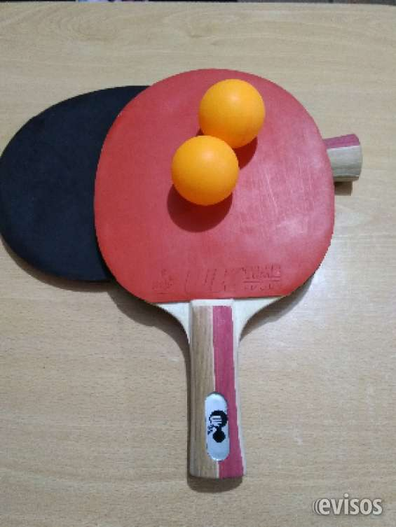Ping-pong, set 2 paletas uk time sport + 2 pelotas