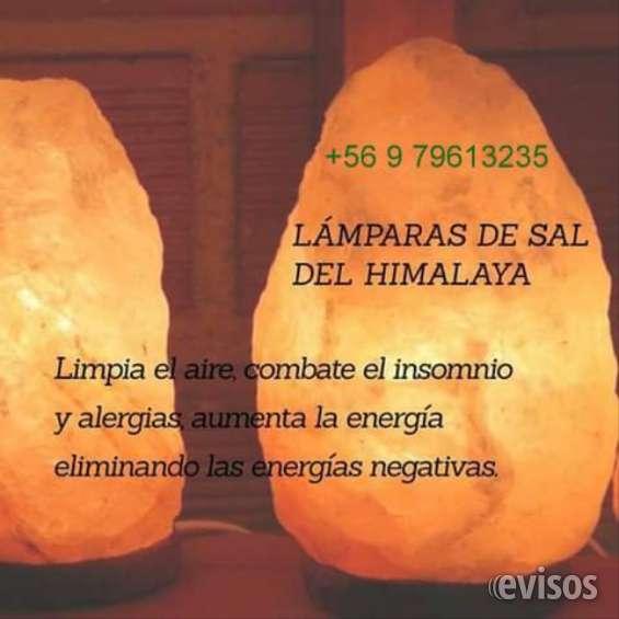 Se venden lamparas de sal rosada
