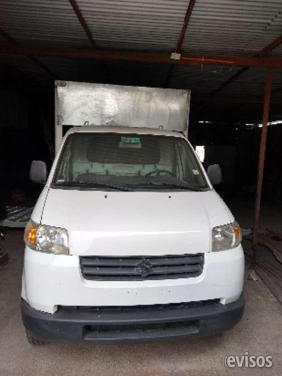 Vendo camioneta suzuki apv vencina y gas año 2011 ,133000 klm