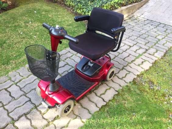 Vendo scooter electrico 4 ruedas p minusvalido-muy bueno