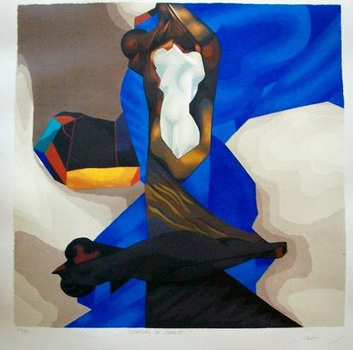 Bella obra de mario toral * serigrafia est.cobalto.
