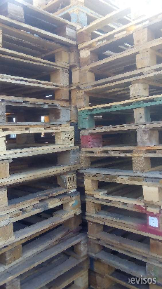 Pallets de madera de 1x120cm. estándar