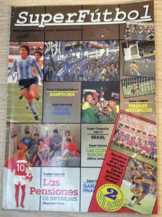 Revista super futbol numero 47 julio 1991 año 4
