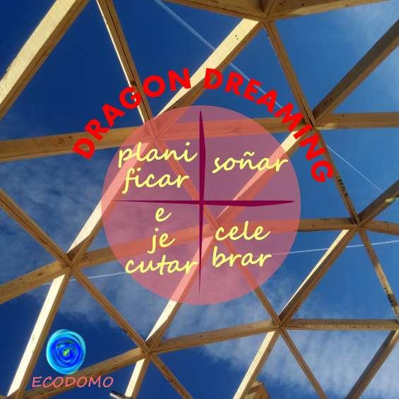 Domos geodesicos v4 sistema de triangulos