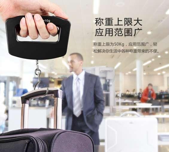 Balanza digital mano equipaje viaje 50kg