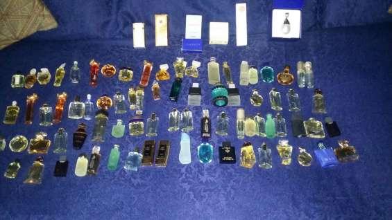 Colección de miniaturas de perfumes. (76 unidades)