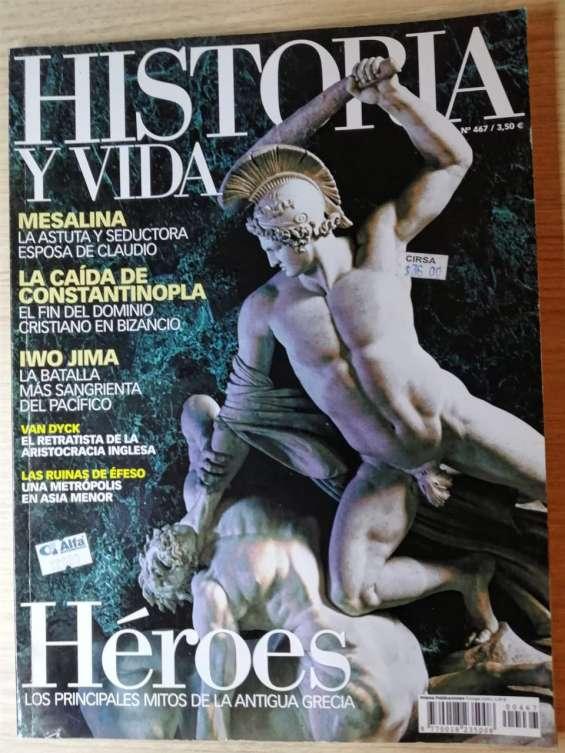 Revista historia y vida - héroes