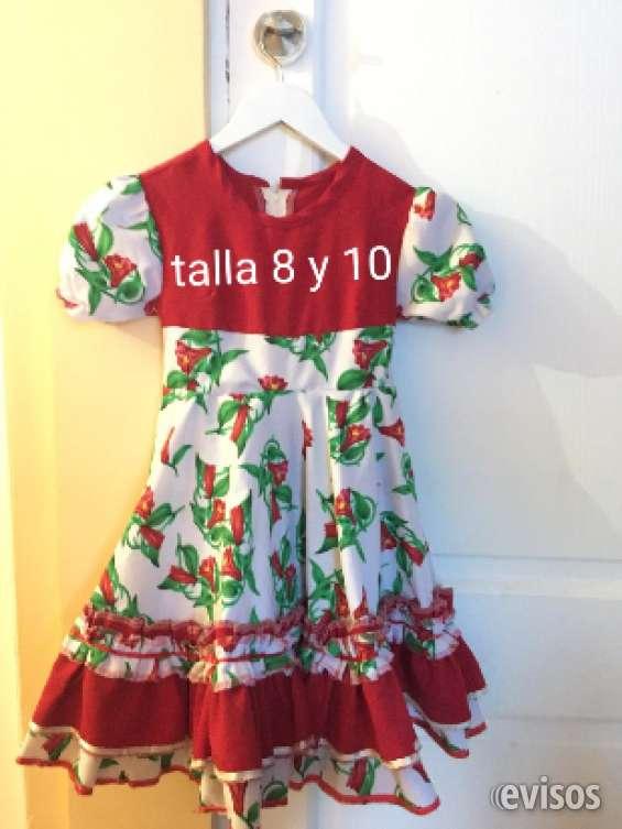Vestidos de huasa tallas 4,6,8,y 10
