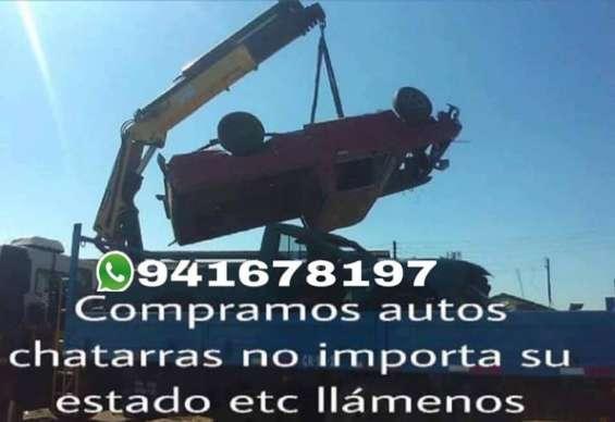 Compro fierro en santiago 941678197