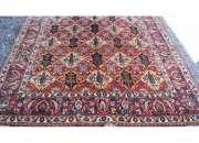 Antigua alfombra persa  400 x 210 cms