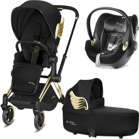 Cybex priam wings jeremy scott 3in1 travel system-negro