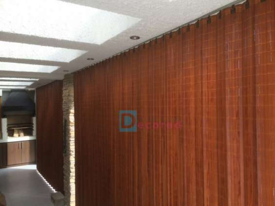 Cortinas de madera hangaroas decored