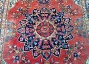 Bella  alfombra persa antigua  3 x 2 mts
