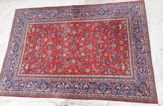 Bella fina alfombra persa antigua ( 210 x 310)