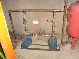 Instalacion de redes de agua y bombas