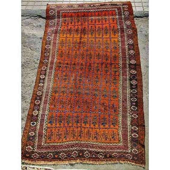 Antigua fina alfombra persa 120 x 200 cms