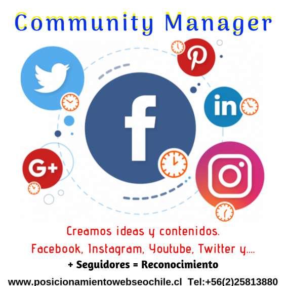 Servicio de community manager.