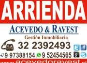 Acevedo&Ravest: Arrienda departamento