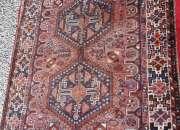 Alfombra tapiz persa antiguo * 124 x 160 cms