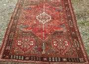 Antigua alfombra persa bidjar 255 x 170 cms