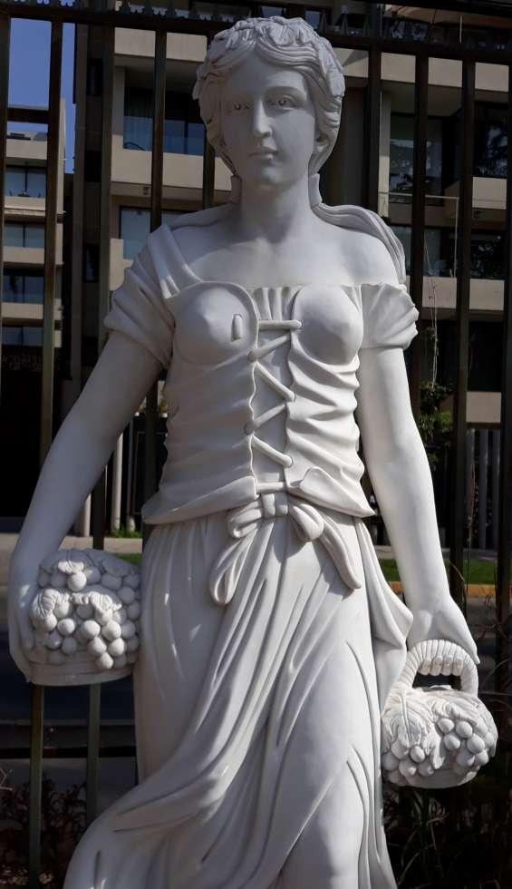 Bellas e impresionantes esculturas mármol 180 cms - unicas ( i )