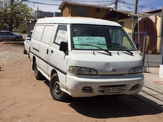 Vendo furgon hyundai h100