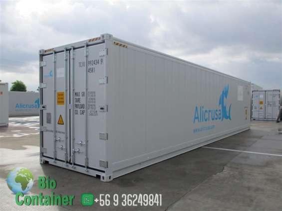 Container maritimo (refrigerado) reefer 40 pies
