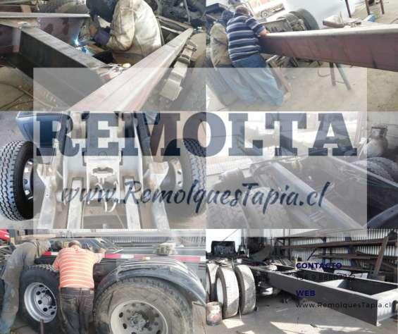 Transformaciones de camiones - tercer eje