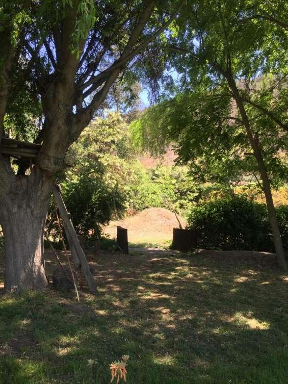 Vista del patio de atrás