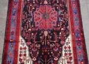 Impecable bella  alfombra persa*  160 x 315 cms
