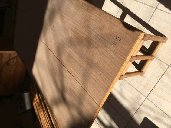Arrimo plegable fino $95.000.- madera excelente calidad